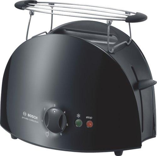 Bosch TAT6103GB 2 slice Toaster Black from Bosch