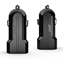 Usams Dual Port 3.1 Amp High Speed Car Charger for Samsung S7 Edge Note 5 Samsung Galaxy ON 7 ON 5 One Plus Two One Plus X Moto X Play Moto G 3 One Plus One Redmi Note 4 Infocus M2 J2 E7 E5