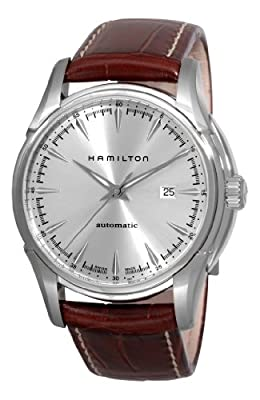 Hamilton Men's H32715551 Jazzmaster Viewmatic Silver Dial Watch by Hamilton
