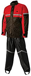 Nelson-Rigg Sr-6000 Stormrider Rainsuit Red Xxl/Xx-Large