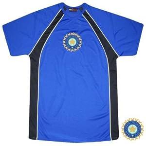 India Cricket Crest Training Shirt