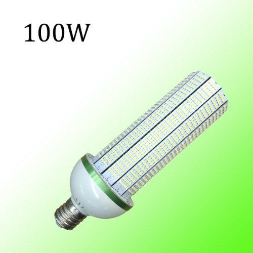 Ledertek 100W E40 Led Corn Light 6000K-6500K Energy Saving High Power Led Light To Replace The Conventional Cfl Bulb 350W, 100% Gurantee Free Replacement Within 1 Year, 3528/Cornlightcw-100We40