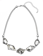 Autograph Cosmic Stone Collar Necklace MADE WITH SWAROVSKI® ELEMENTS