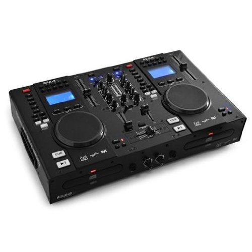 ibiza dj scratch 200 dual cd usb mp3 player mixer at shop ireland. Black Bedroom Furniture Sets. Home Design Ideas