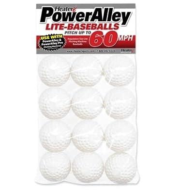 1 Dozen Heater Sports 60 Mph Lite Balls from 60 Mph
