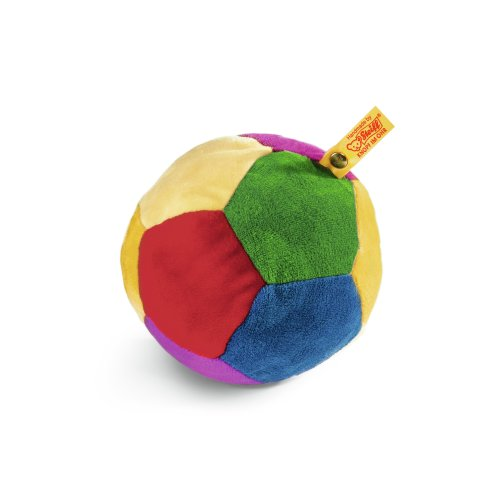 Steiff Rattle Ball, Multicoloured, 4.8""