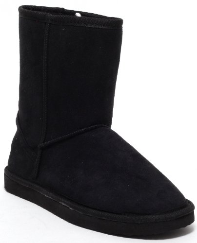 Damen Stiefel Winterstiefel Fellstiefel / Fashion Boots (black) Gr. 37-40