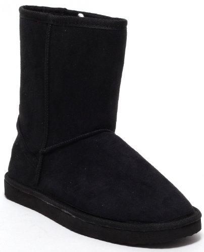 Damen Stiefel Winterstiefel Fellstiefel / Fashion Boots (black) Gr. 37-40