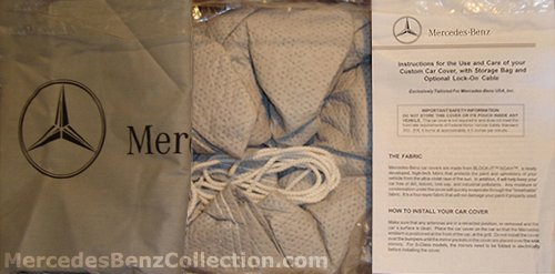 Mercedes-Benz Genuine OEM Factory Car Cover 2010 to 2014 E-Class Sedan