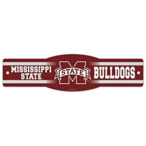 Buy Mississippi State Bulldogs Official NCAA 4x17 Street Sign by Wincraft by WinCraft