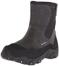 Merrell Men\'s Polarand Rove Zip Waterproof Boot, Castle Rock, 10.5 M US