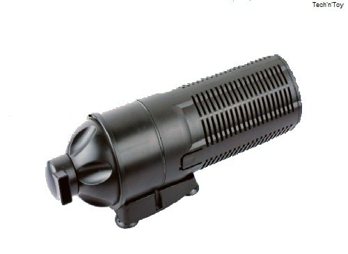 Sunsun cup 609 528 gph 9w uv sterilizer submersible for Submersible pond pump with filter