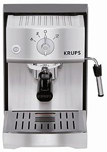 Krups XP5240 Cafetière Espresso Manuelle Inox brossé (Import Allemagne)
