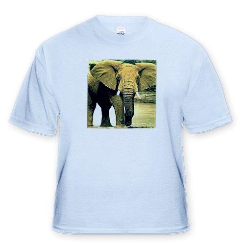 African Elephant - Toddler Light-Blue-T-Shirt (3T)