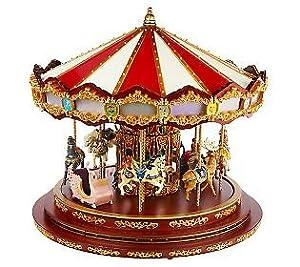 Mr Christmas Marquee Deluxe Carousel Amazon Co Uk