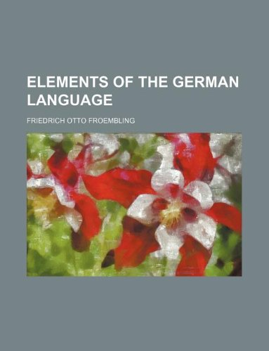 Elements of the German language