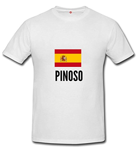 T-shirt Pinoso city White