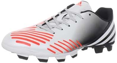 adidas Men's Predito LZ TRX FG Soccer Cleat,Predator Running White/Infrared,8.5 M US