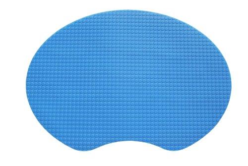 """Kidkusion 15"""" X 11"""" Gummi Mat, Blue"""
