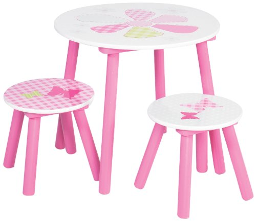 Girls Generic Patchwork Table and Stools