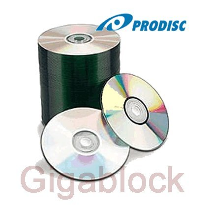 100pcs ProDisc CD-R 52X Silver Clear Coat Top Thermal Blank Media