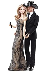 Barbie Collector Tim McGraw And Faith Hill Doll Gift Set