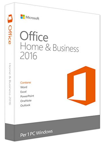 MS Office Home and Business 2016 Win EuroZone Medi