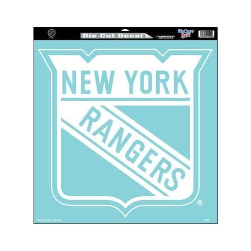 Wincraft New York Rangers 18x18 Die Cut Decal   New York