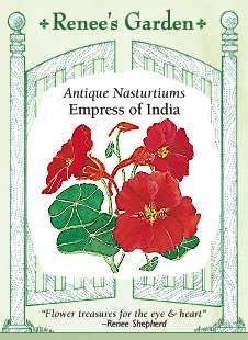 Nasturtium Empress of India SeedsB0006FLCUG