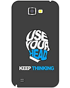 Samsung galaxy Note 2 Back Cover Designer Hard Case Printed Cover