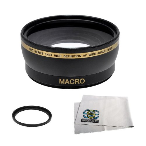 Extra Large Wide Angle Lens With Macro Lens
