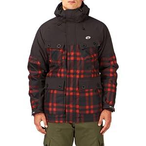 Animal Men's Kitchin Snow Jacket - Red, Large