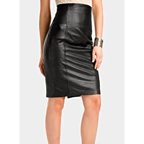 Marciano Corset High Waist Pencil Skirt