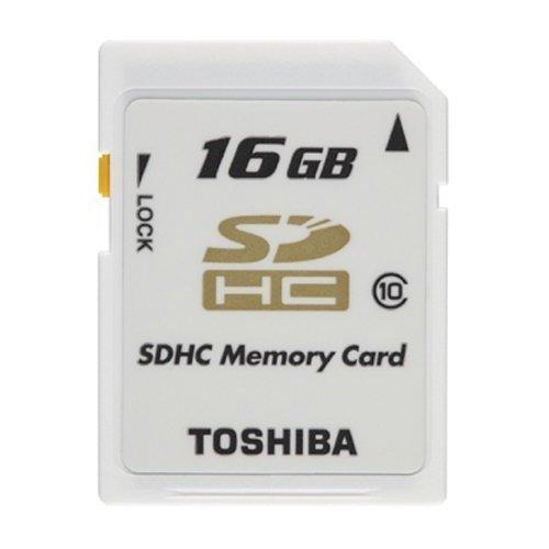 【16GB】 東芝 CLASS10 SDHCカード (海外リテール品) SD-T16GR6WA