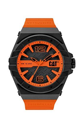 CAT WATCHES Men's LC11124134 Spirit Analog Display Quartz Orange Watch