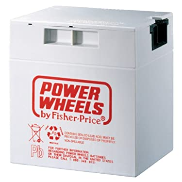 Power Wheels 12 Volt Rechargeable Battery