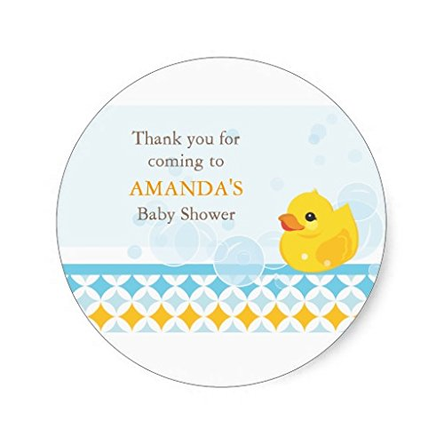 Rubber Ducky Shower front-597350