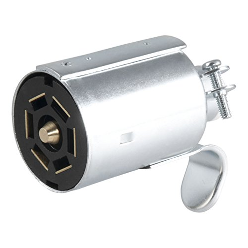 Curt Manufacturing 58190 7-Pole Metal Connector Trailer End