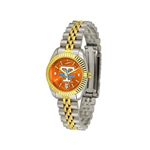 Tennessee Volunteers UT NCAA Ladies Anochrome Gold Watch by SunTime