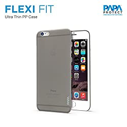 Papa Protect iPhone 6S Plus Flexi Fit Case. 0.3MM Thin | Impact Resistance | High Quality Material | Elegant Look