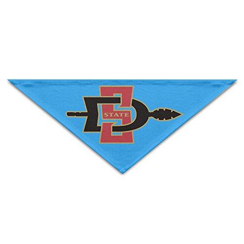 san-diego-state-aztecs-logo-pet-bandana-scarf-neckerchief