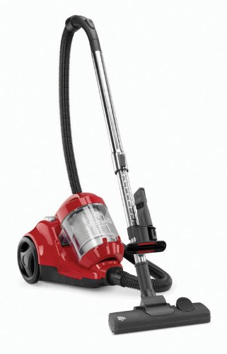Find Bargain Dirt Devil FeatherLite Cyclonic Canister Vacuum, SD40100