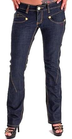 EyeCatchJeans - Greta Women's Dark Blue Jeans Size 8