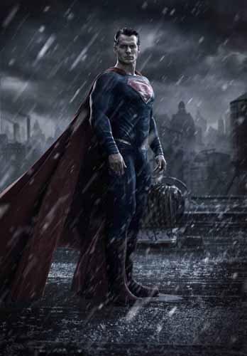 ポスター アクリルフォトスタンド入り A4 パターンF バットマン vs スーパーマン ジャスティスの誕生 光沢プリント