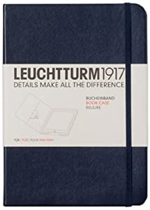 Leuchtturm1917 Undercover Book Cover for iPad Mini   Navyreviews and more information