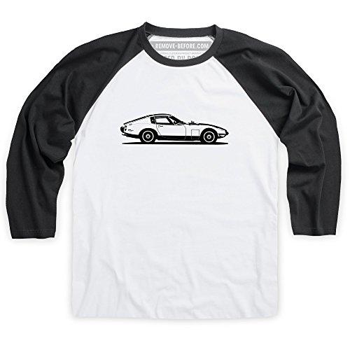 2000gt-coupe-grand-tourer-t-shirt-da-baseball-uomo-bianco-nero-xl