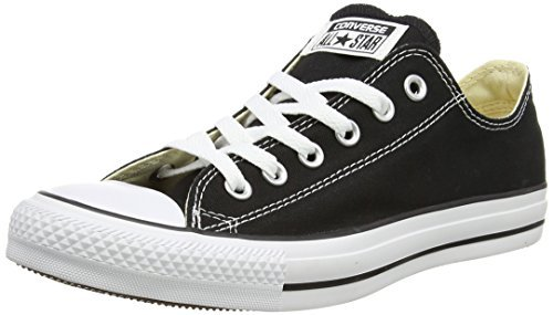 Converse Unisex Chuck Taylor All Star OX Sneaker (5 Men 7 Women, Black)