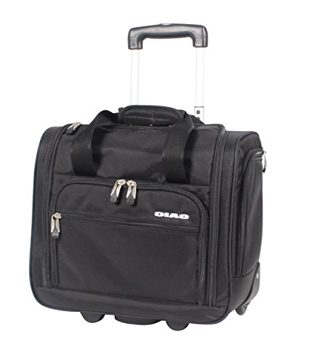 Ciao Carry On Wheeled Under The Seat Bag (Black) (Ciao Under The Seat Travel Case compare prices)