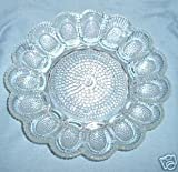 Anchor Hocking Deviled Egg Platter Plate