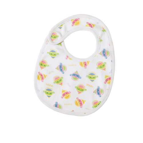 Sock Monkey Faces Printed Infant Bib